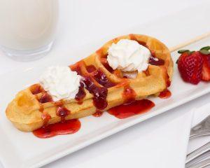 Strawberry Swaffle